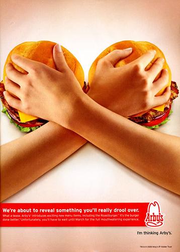 Burger Breasts Arbys