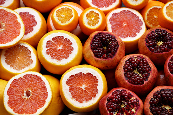 Colorful Creative Food Project Fruit, color correct food photography