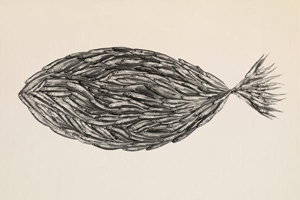 fish irving penn still life