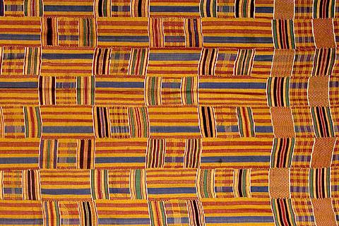 Kente Cloth Ghana