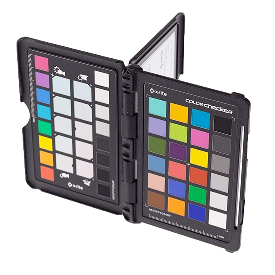 X-Rite Color Checker for Food Creatives, color correct food photography