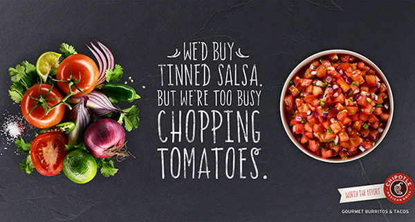 Chipotle Salsa Advertising Food Photography