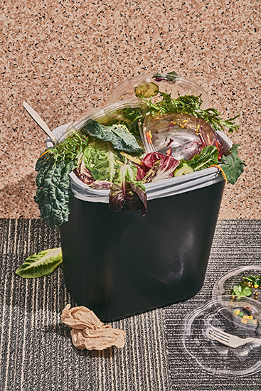 Is Your Salad Habit Good For The Planet Stephanie Gonot Creative Food Photography Job