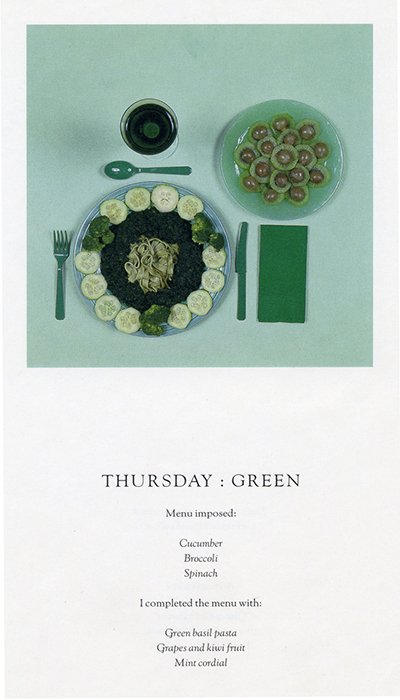 Sophie Calle Green Fine Art Creative Food Photography Jobs