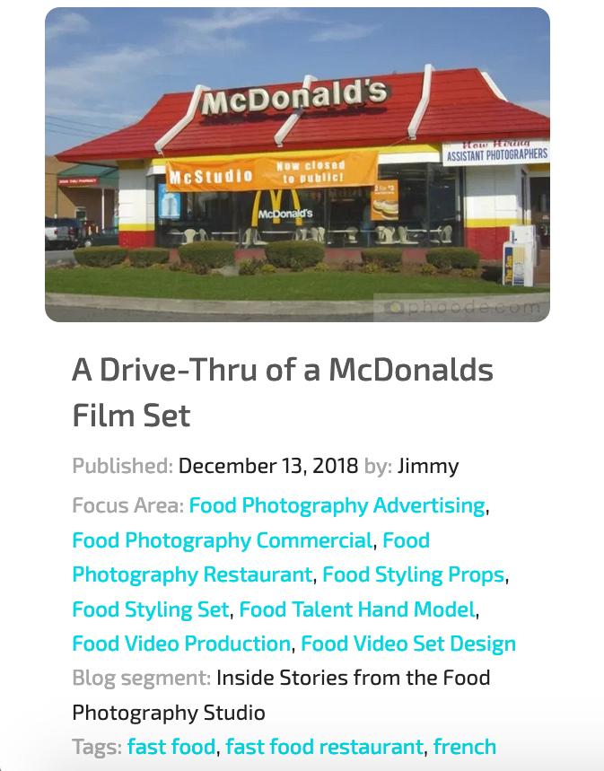 phoode food photography blog segments; professional food photography blog; international food photography community; food photographers creatives network website