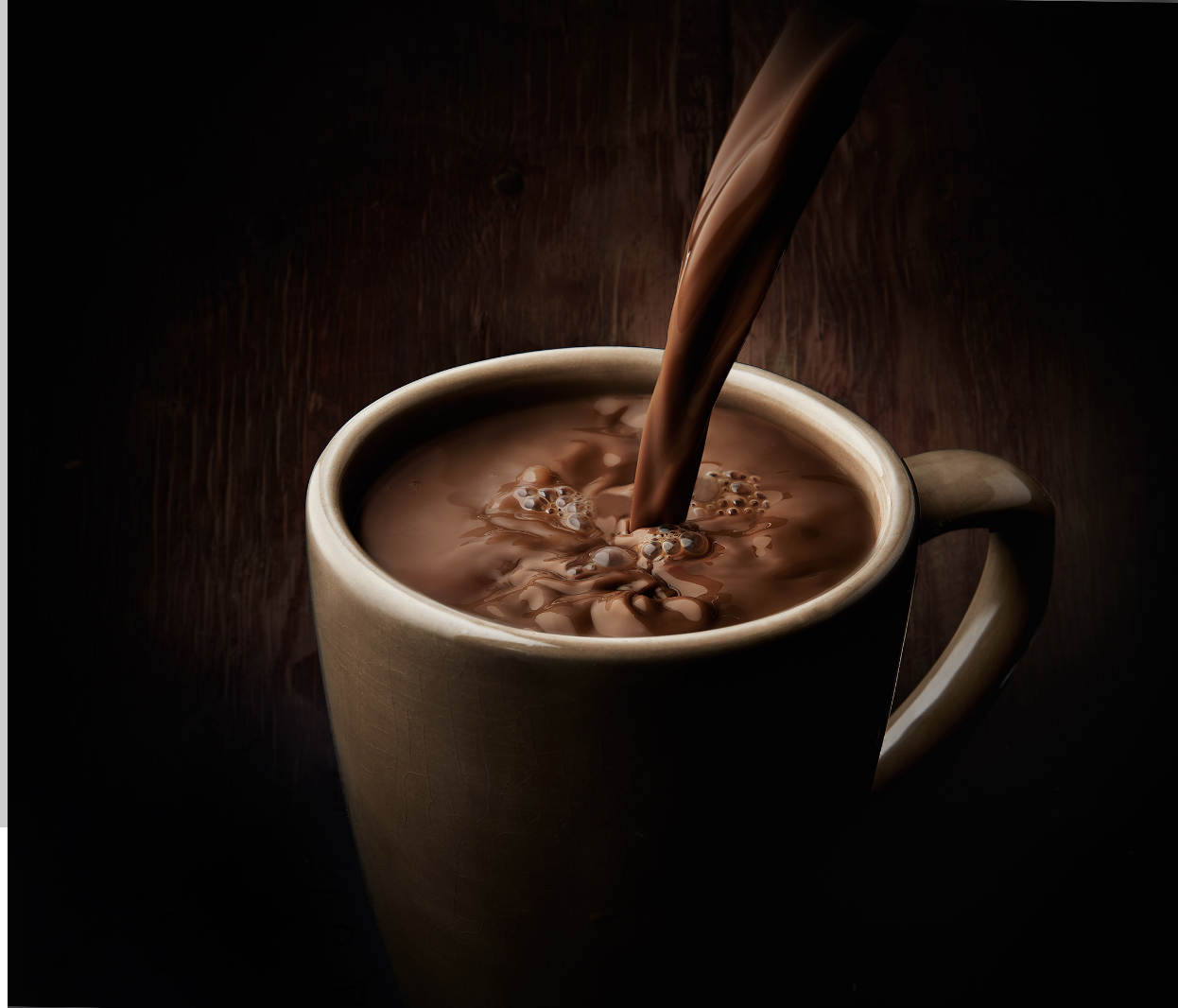 sue tallon food photography, advertising food product photographer, food photography studio san francisco, mars garden, top food photographer in united states, coffee pour