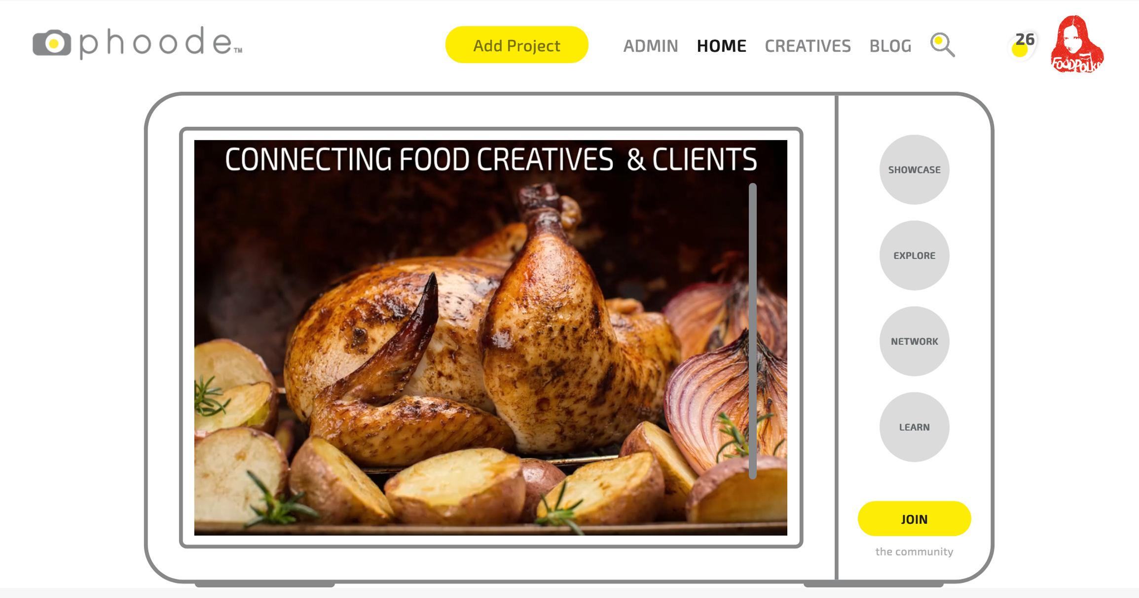phoode, food marketing ideas, food photographers directory, food stylist directory, social network for food marketers, social network for food creatives, food advertising network, food branding network, Discover hire food photographers food stylists