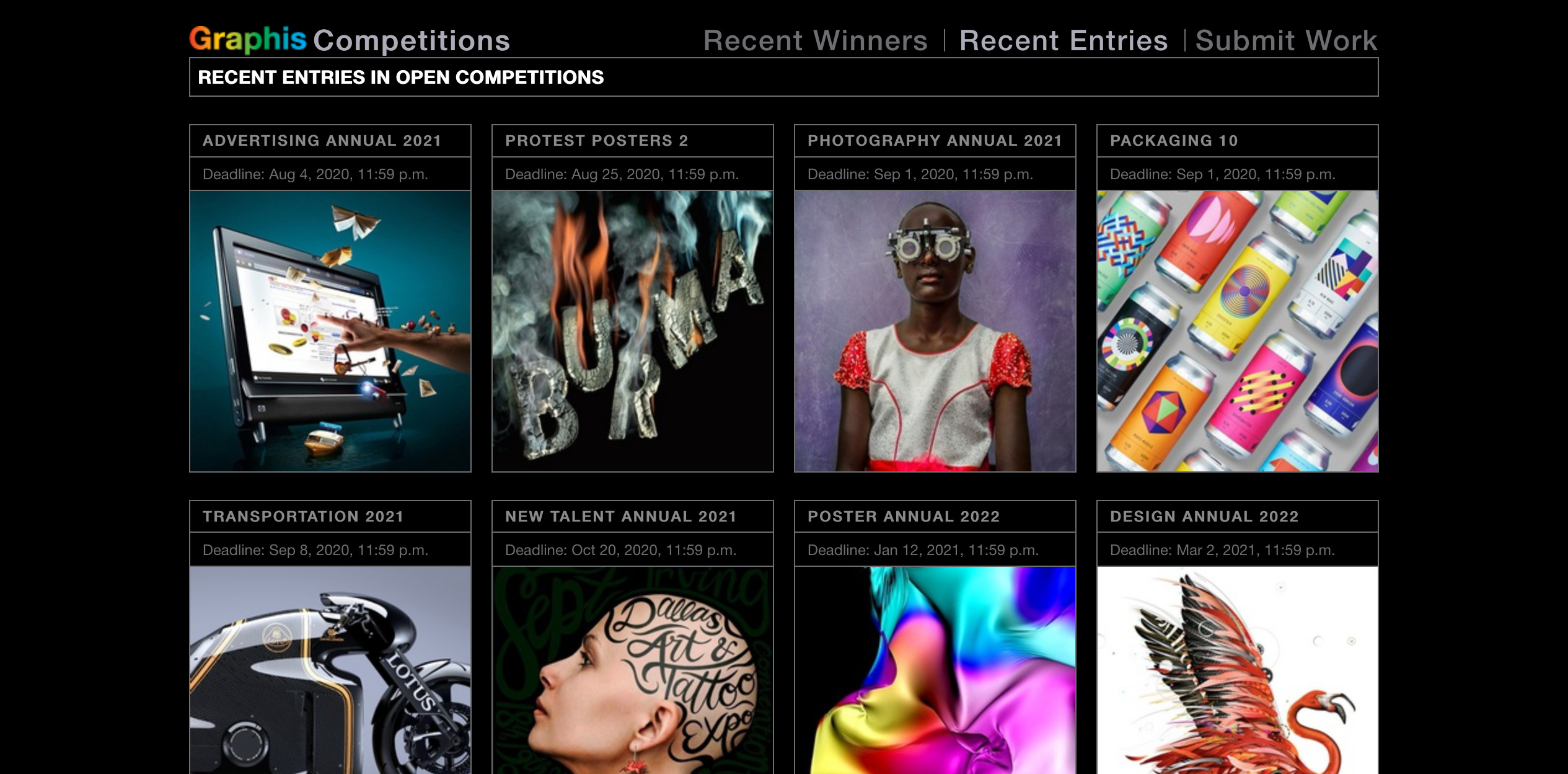 food photography awards contest, graphis competitions, phoode