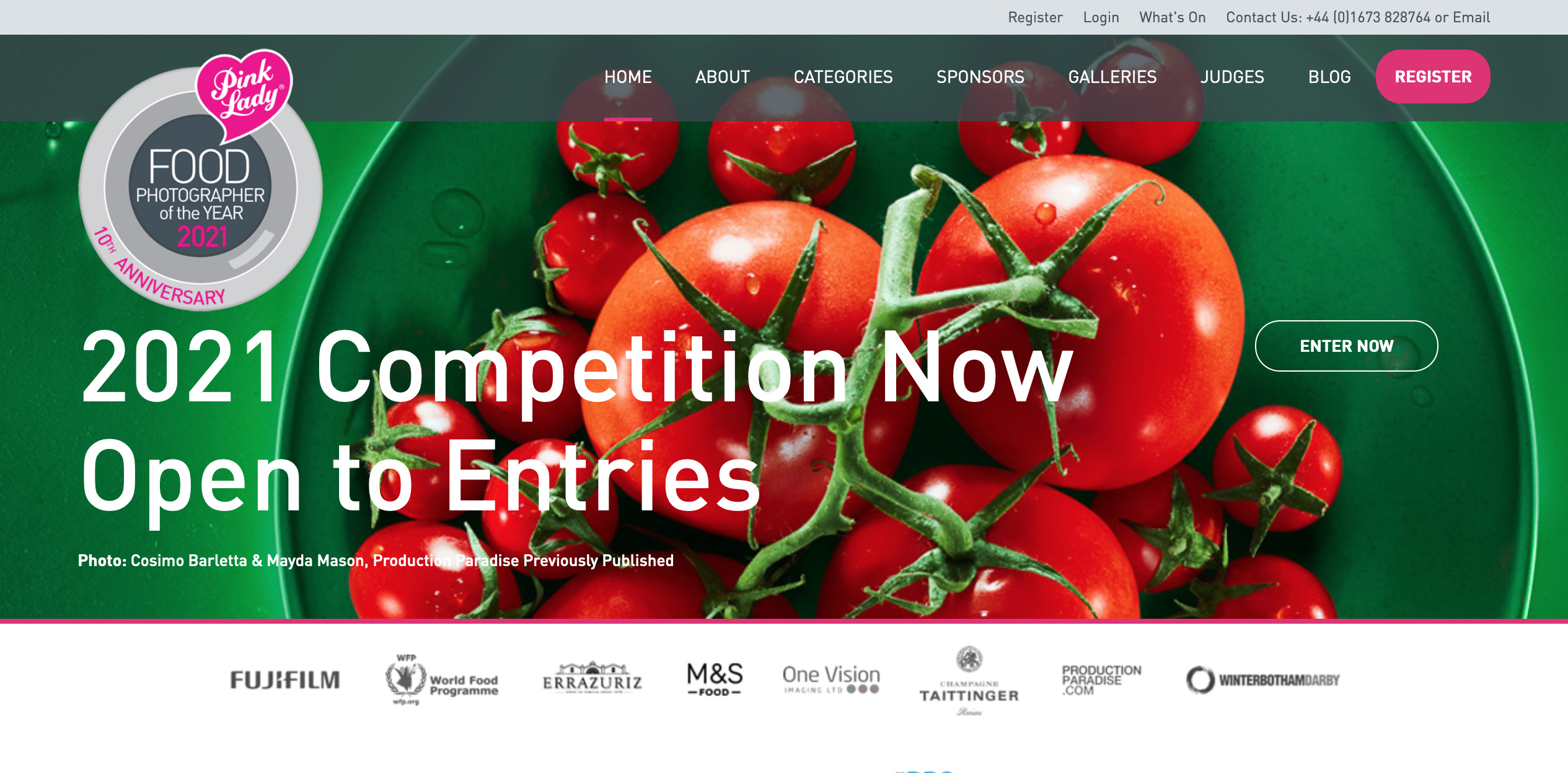 food photography awards contest, pink lady, PHOODE
