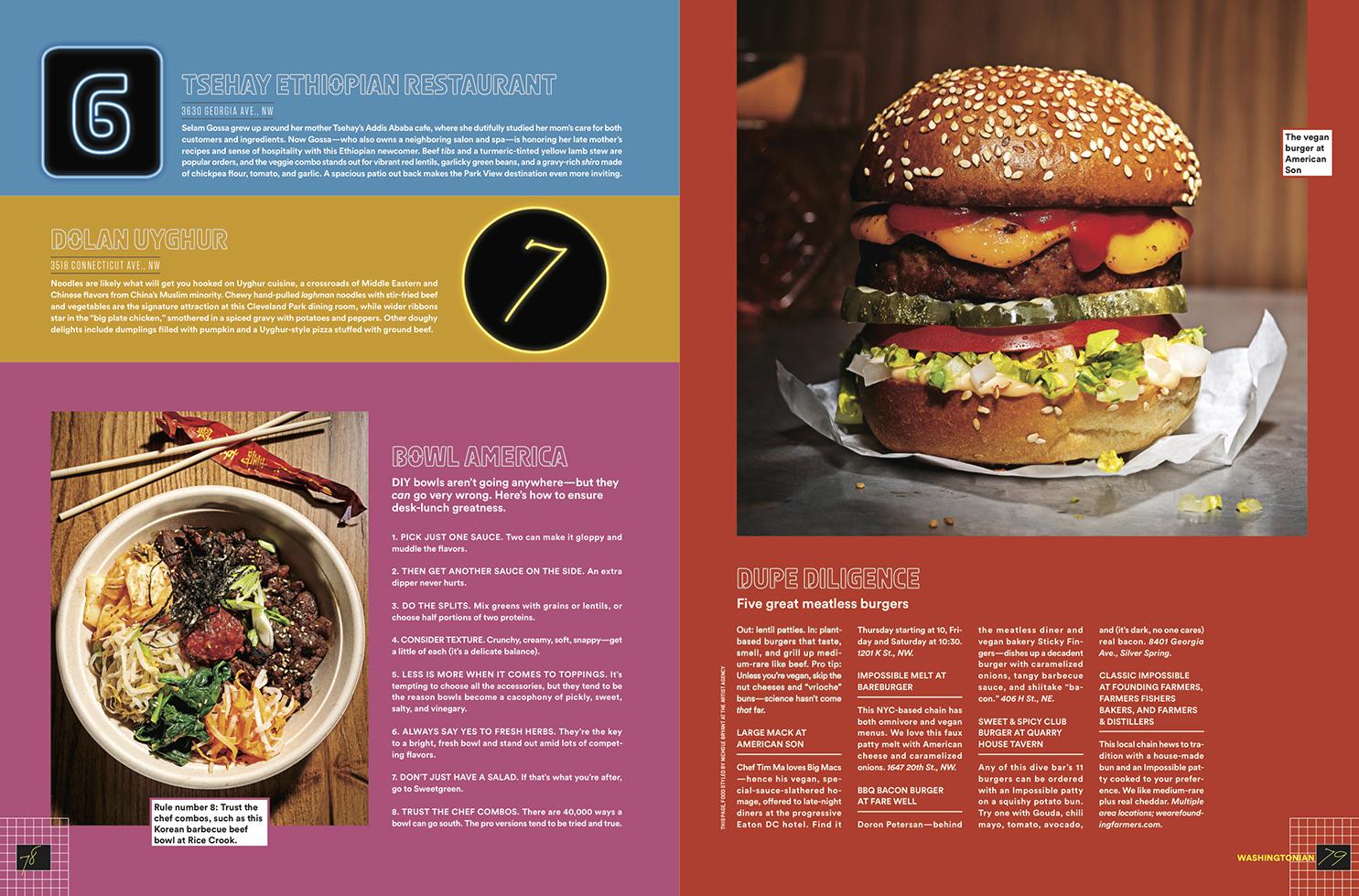 Phoode, Scott Suchman food photography, food magazine photography, Washingtonian Magazine food photography, commercial food photography, editorial food photography