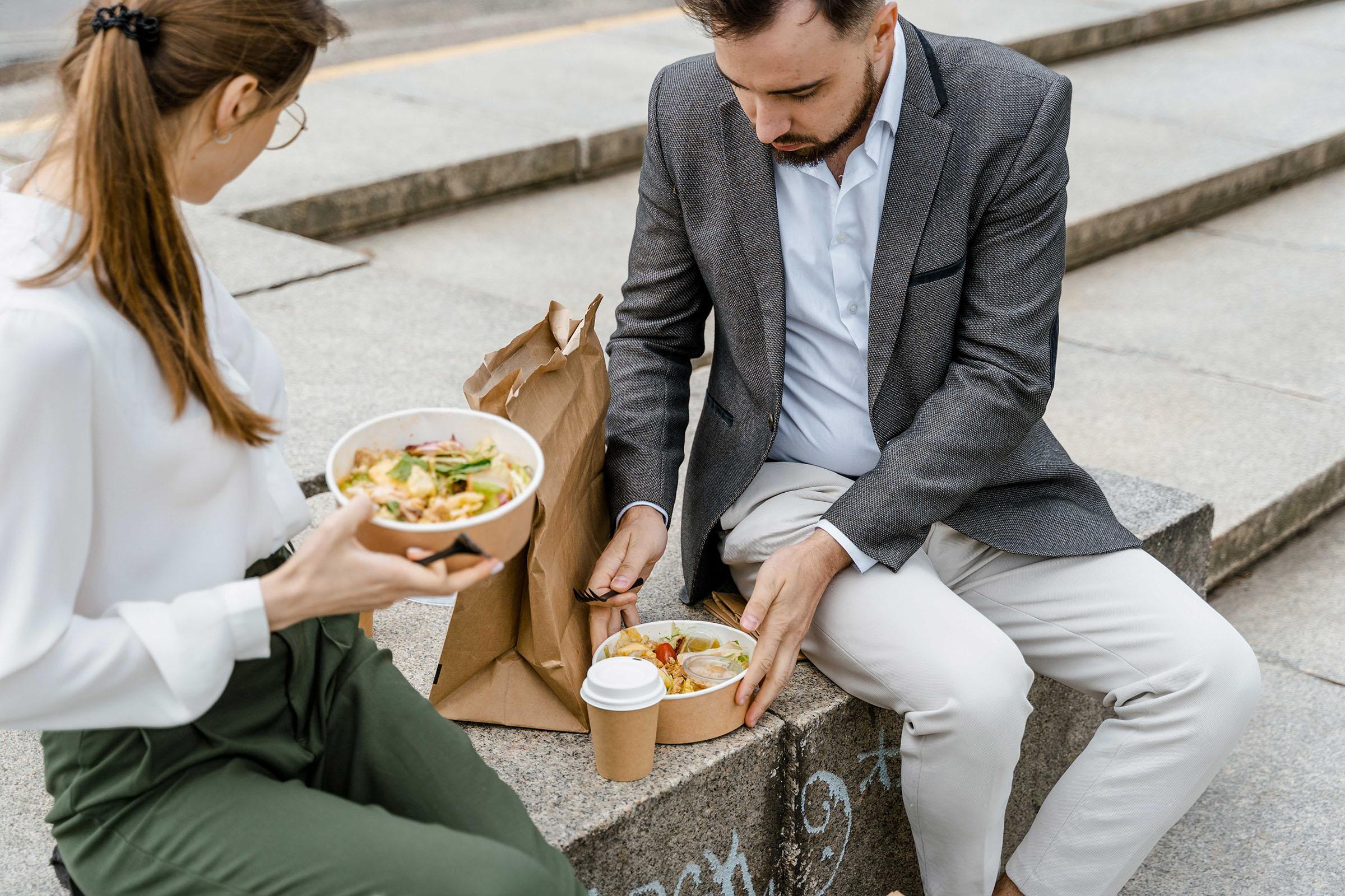 food concept, restaurant concept, takeout, phoode