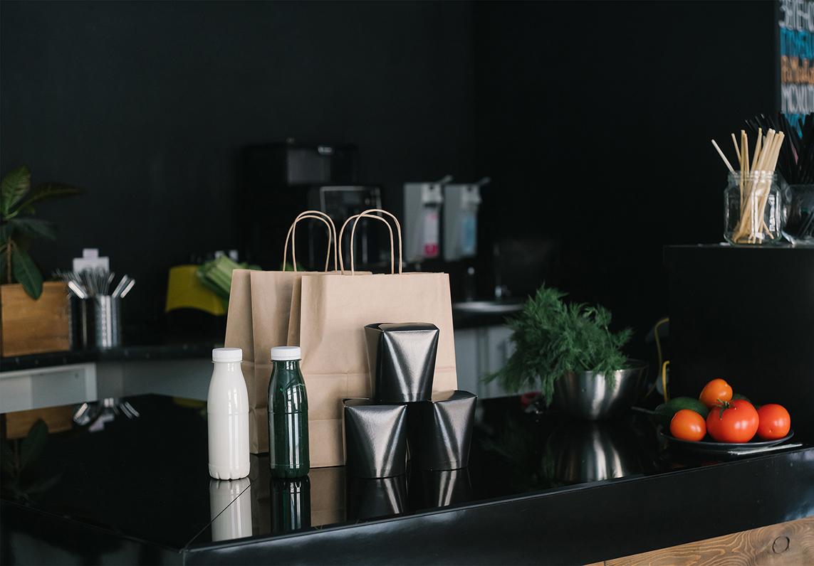 food concept, restaurant concept, takeout